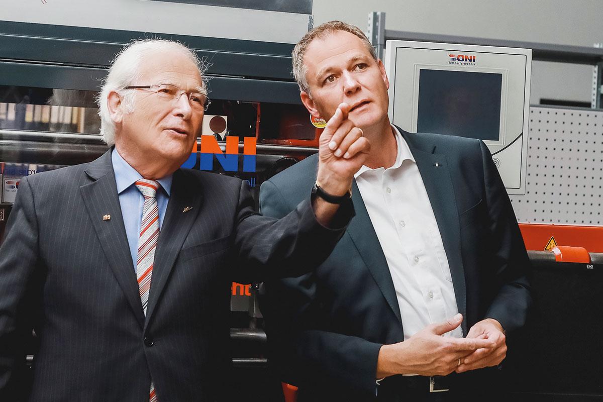 Zukunftsorientiert die Wirtschaft gestalten – Carsten Brodesser im Dialog mit Unternehmen